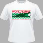 2017 NBBA World Series - White Short Sleeve