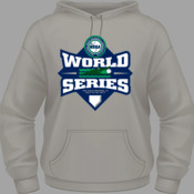 2017 NBBA World Series - Grey Hooded Sweatshirt