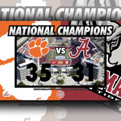 2017: CLEMSON vs ALABAMA