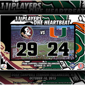 Scorecard: 2015 University of Miami vs Florida State