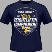 2018 Polk County Girls Weightlifting Championships